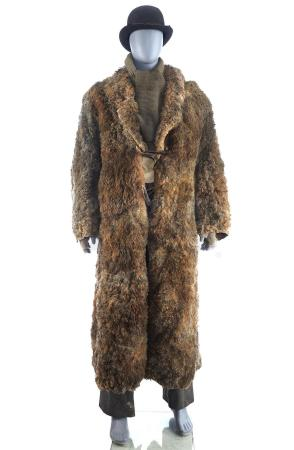 Lot # 13: THE BALLAD OF BUSTER SCRUGGS - Impressario's (Liam Neeson) Traveler's Costume