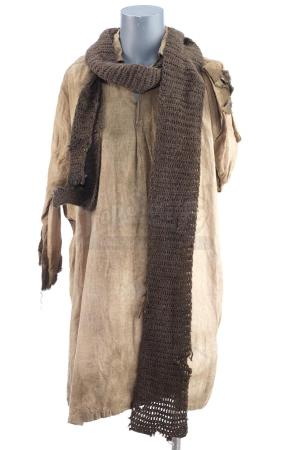 Lot # 17: THE BALLAD OF BUSTER SCRUGGS - Harrison's (Harry Melling) Campfire Shirt and Scarf