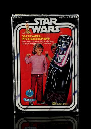 Lot # 2: Darth Vader Inflatable Bop Bag - Sealed [Kazanjian Collection]