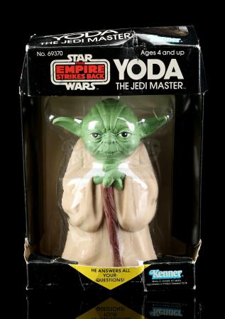 Lot # 8: Yoda The Jedi Master Magic 8-Ball - Sealed [Kazanjian Collection]