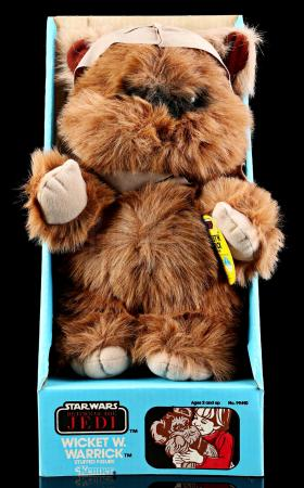 Lot # 9: Wicket W. Warrick Plush Figure [Kazanjian Collection]