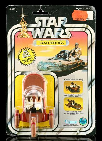 Lot # 10: Diecast Land Speeder SW12B