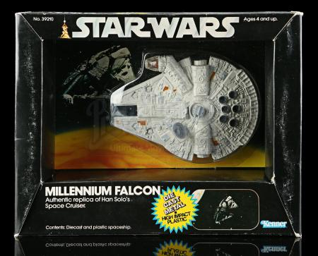 Lot # 13: Diecast Millennium Falcon SW7A - Sealed [Kazanjian Collection]