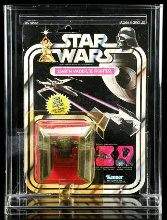 Lot # 14: Diecast Darth Vader TIE Fighter SW21