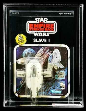 Lot # 16: Diecast Slave I Vehicle ESB11AY CAS 75Y [Kazanjian Collection]