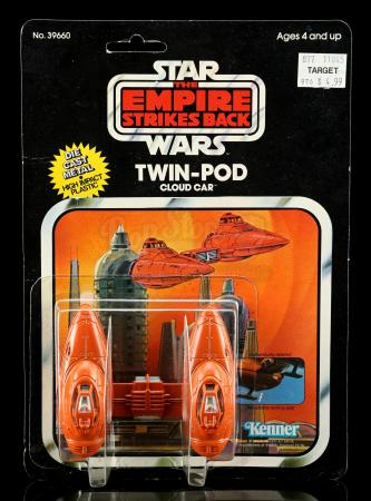 Lot # 17: Diecast Twin-Pod Cloud Car ESB11A