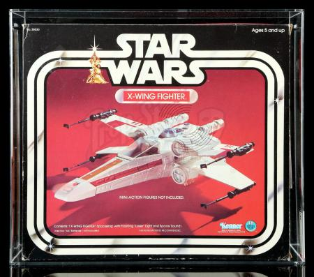 Lot # 20: X-Wing Fighter AFA 75+ [Kazanjian Collection]