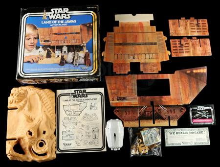 Lot # 22: Land of the Jawas Action Playset [Kazanjian Collection]