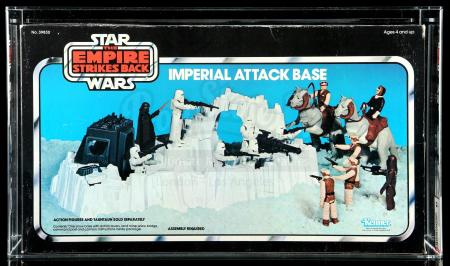 Lot # 25: Imperial Attack Base AFA 80 [Kazanjian Collection]