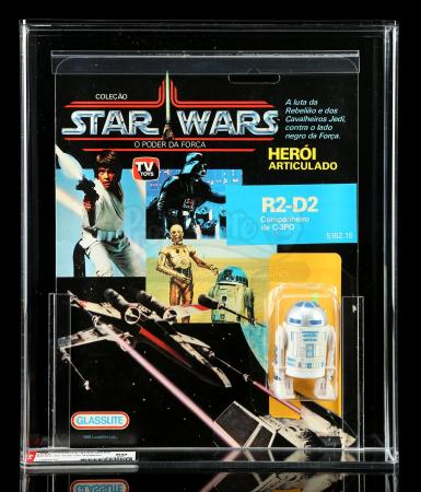 Lot # 50: Brazilian R2-D2 POTF AFA 50