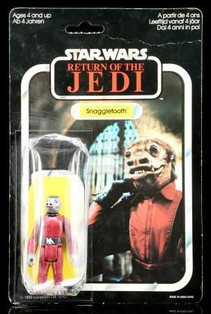 Lot # 53: French Snaggletooth ROTJ79