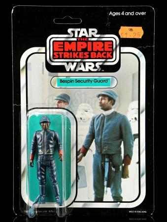 Lot # 63: UK Bespin Security Guard (Black) ESB45