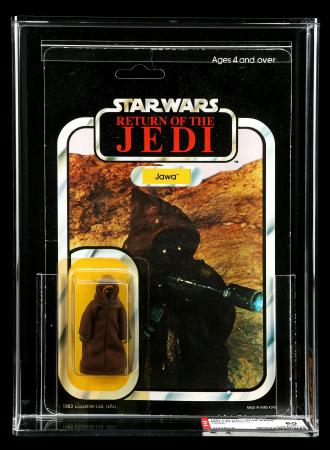 Lot # 66: UK Jawa ROTJ45C AFA 60Y