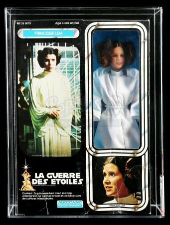 "Lot # 73: French ""Princesse Leia"" Large Size Action Figure AFA 50"