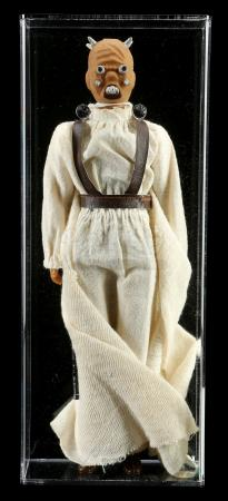 Lot # 76: Loose Mexican Tusken Raider Large Size Action Figure AFA 85