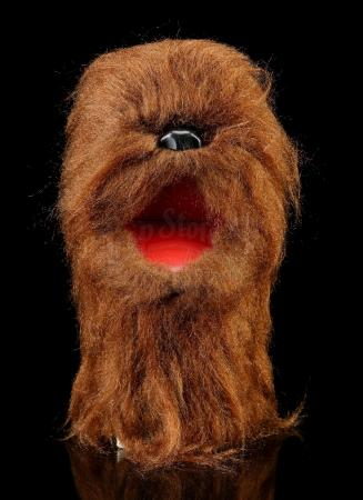 Lot # 77: Canadian Regal Chewbacca Hand Puppet