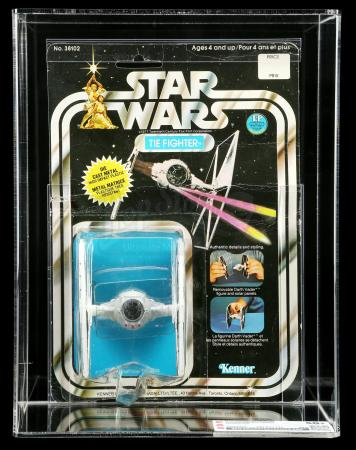 Lot # 78: Canadian Diecast TIE Fighter SW12A CAS 50+ [Kazanjian Collection]