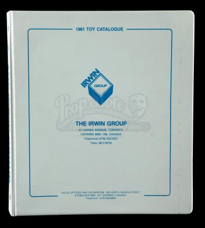 Lot # 92: 1981 Irwin Toys Dealer Catalog (Canada)