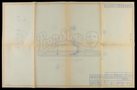 "Lot # 102: Micro Collection ""Walk Scout"" (AT-ST) Blueprint"