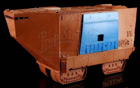 Lot # 107: Jawa Sandcrawler Early First Shot Prototype with Blue Door