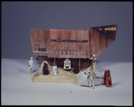 "Lot # 111: Land of the Jawas Action Playset Kenner Photo Transparency (4""x5"")"
