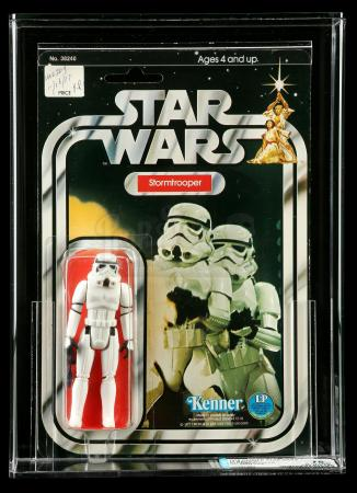 Lot # 116: Stormtrooper (Quality Control Sign-Off) SW12A AFA 75