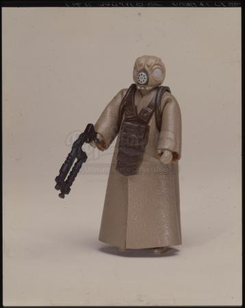"Lot # 136: 4-LOM Figure Kenner Photo Transparency (4""x5"")"