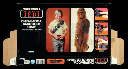 Lot # 143: Chewbacca Bandolier Strap Box Flat