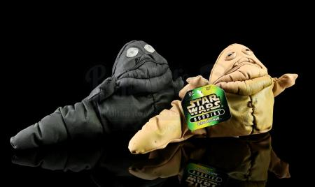 Lot # 170: Jabba the Hutt Buddies Prototype and Production Toy