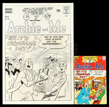 Lot # 442: Archie and Me #11 Cover with Comic