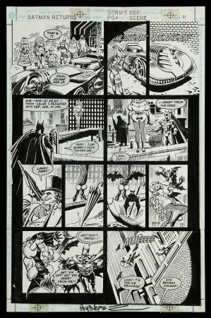 Lot # 445: Batman Returns: The Official Comic Adaptation #1 p.31