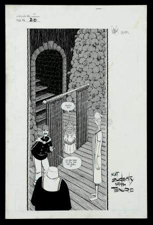 Lot # 449: Cerebus #91 p.20 Splash