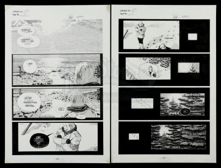 Lot # 452: Cerebus #263 p.14-15 Double Page Spread
