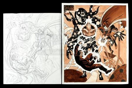 Lot # 459: Dr. Strange Pin-Up (Unpublished)