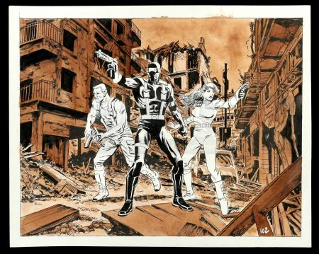 Lot # 463: G.I. Joe Pin-Up (Unpublished)