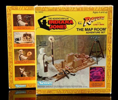 Lot # 568: The Map Room Adventure Set