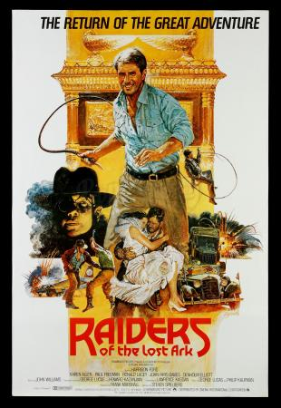 Lot # 572: Raiders of the Lost Ark International Poster [Kazanjian Collection]