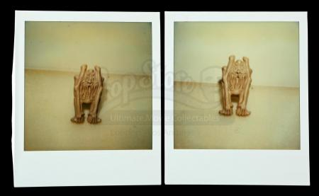 Lot # 615: Two Screaming Ghost Mold Polaroids