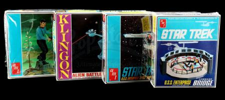 Lot # 625: Four AMT Model Kits