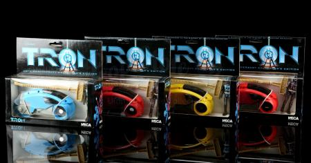 Lot # 657: Four Tron Light Cycle Vehicles