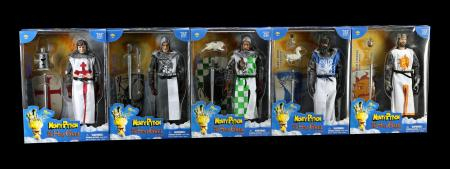 Lot # 663: King Arthur and the Knights of the Round Table 5 Figure Set