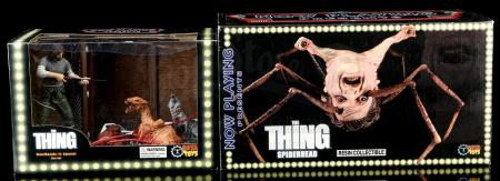 Lot # 672: Two The Thing Collectible Figures