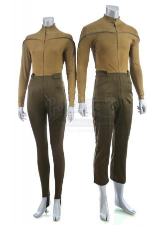 Lot # 28: STAR TREK (2009) - Two USS Kelvin Uniforms