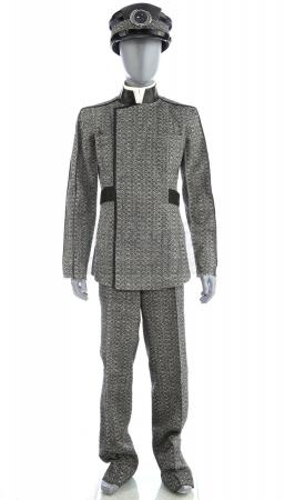 Lot # 62: STAR TREK (2009) - Men's Starfleet Council Member Coat and Pants