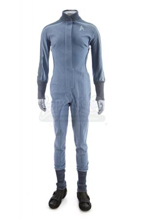 Lot # 63: STAR TREK (2009) - Starfleet Academy Cadet Training Jumpsuit