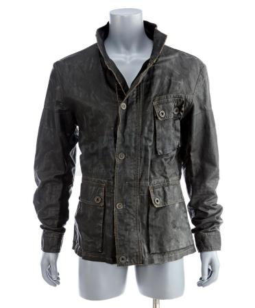 Lot # 91: STAR TREK INTO DARKNESS (2013) - Captain Kirk's Kronos Disguise Coat