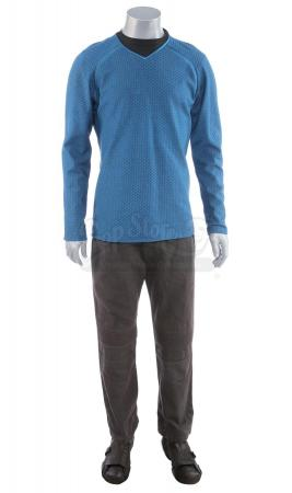 Lot # 94: STAR TREK (2009) & STAR TREK INTO DARKNESS (2013) - USS Enterprise Prototype Sciences Uniform