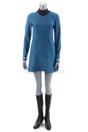 Lot # 101: STAR TREK INTO DARKNESS (2013) - Science Officer Dr. Carol Marcus' Stunt Dress