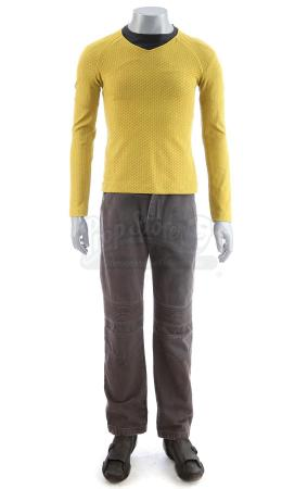 Lot # 169: STAR TREK (2009) & STAR TREK INTO DARKNESS (2013) - Men's USS Enterprise Command Uniform
