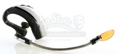 Lot # 177: STAR TREK INTO DARKNESS (2013) - Lt. Commander Montgomery Scott's Damaged Transporter Headset